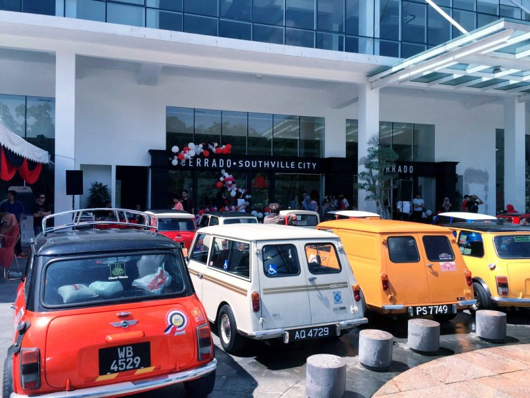 Mah Sing launch with Mini club  and Vespa club
