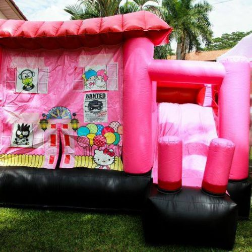 Hello Kitty Combo Slide & Bouncer