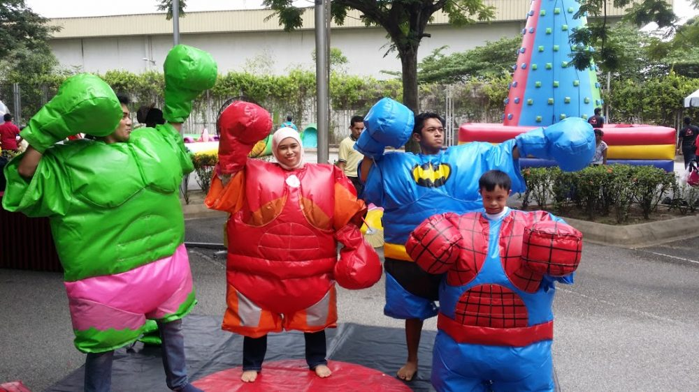 Superheroes Sumo Suits