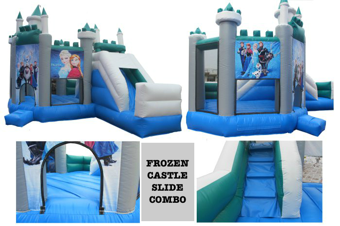 Frozen Castle Slide Combo