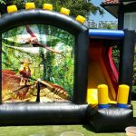 Dinosaur Lego Combo Slide & Bouncer